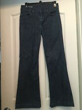 CITIZENS OF HUMANITY A40 Blue Hutton High Rise Wide Leg Jeans Size 27 (27x28)