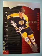 "2013-14 Upperdeck SP Authentic ""Silver Skates"" Retro # R9 Bobby Orr!"