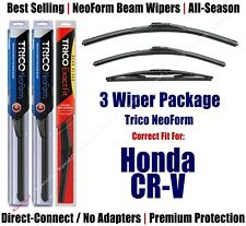 3-Pack Wipers Front & Rear - NeoForm - fit 2017+ Honda CR-V - 16260/170/12B