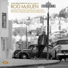 Love's Been Good to Me Songs of Rod M 0029667076920 McKuen CD