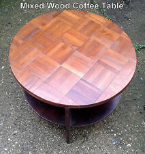 Without Assembly Required Round Contemporary Coffee Tables