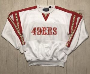 Vintage STARTER NFL SF San Francisco 49ers Crewneck Sweater Medium