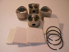 VW Water Cooled Pistons and Ring Set: +.010 Over Pistons for 1.6 &1.7L+ Gas