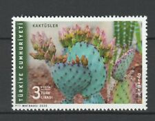 Turkey 2020 Flowers, Cactus MNH stamp