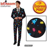 CA1030 Suitmiester Video Game Retro Arcade Spaceship Oppo Suit Opposuits Costume