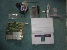 SNES Super Nintendo Entertainment System PARTS Sold AS Unknown working.