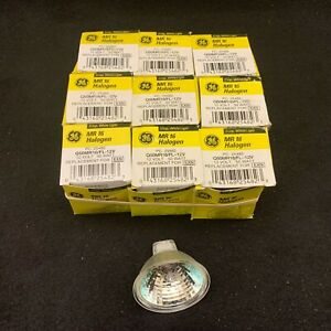 GE MR16 12V 50W 36° Q50MR16/FL-12V PC:25482. Replaces EXN. New In Box