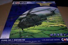 CORGI AVIATION 1:72 PUMA HC.1 XW20/AC NO 72 SQN  RAF ALDERGROVE 1997