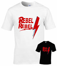David Bowie tribute T-shirt,all sizes Rebel Rebel