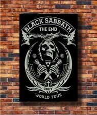 Costom Poster Black Sabbath The End World Tour Ozzy 12x18 27x40 Art Silk