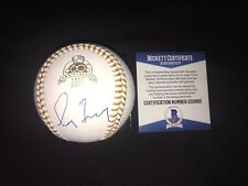 Greg Maddux Signed Official 60th Anniversary Gold Glove Baseball Cubs Braves BAS