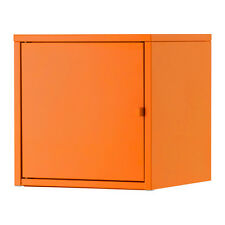 Ikea LIXHULT Wall Cabinet Cupboard,Home Office Storage Living,Metal,Blue,Orange