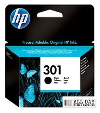 HP Deskjet 1000 Printer Ink Cartridge Genuine Original 301 Black (CH561E)