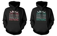 Cute BFF Matching Hoodies for Best Friends - God Made Us Best Friends