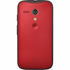 Genuine Motorola OEM Shell Protective Phone Case For Moto G 1st Gen 2014 Red