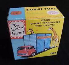 Corgi 503 Circus Giraffe Transporter Empty Repro Box Only