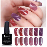 7.5ml Pale Mauve Magnetisch Cat Eye Soak Off UV Gel Nail Art Nagellack UR SUGAR