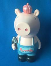 Peppa Pig Style Princess Money Box Figure ~ Brand New and Boxed