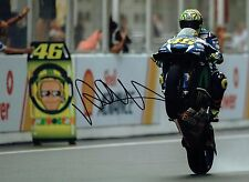 VALENTINO ROSSI Autograph 2017 SIGNED 16x12 Yamaha Photo 3 AFTAL COA The Doctor