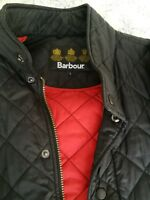 Mens barbour quilted jacket large