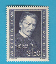 Austria 1953 Hugo Wolf Compositore Romantic Music 1v MNH** Unificato 818