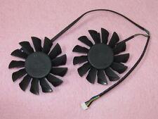 75mm MSI Twin Frozr III Video Card Dual Fan 52mm 4Pin PLD08010S12HH #M747 QL