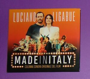 LIGABUE. MADE IN ITALY. RARO CD COLONNA SONORA NUOVO !