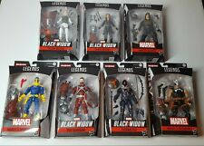Marvel Legends Lot Black Widow BAF Crimson Dynamo Complete Set of 7 Figures NIB