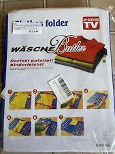 Adult Clothes T-Shirt Folder Magic Folding Board Flip Fold Laundry Organizer