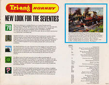 Triang Hornby 1970 Catalogue.Locomotives,Coaches,Accessories,Minic Car Racing