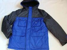 NWT Boys Zero XPosur Winter Jacket Size 18 20 XL 3-in-1 Coat Ski Snowboard Blue