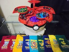 Pokemon marble carry case with 40 marbles and 9 marble bags