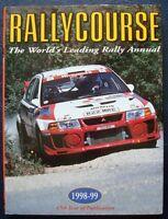 RALLYCOURSE 1998-1999 ANNUAL MOTORSPORT WRC CAR BOOK