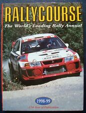 RALLYCOURSE 1998-1999 ANNUAL MOTORSPORT WRC CAR BOOK