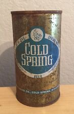 Vintage Cold Spring Beer Can Flat Top Breweriana Empty 12 oz Minnesota