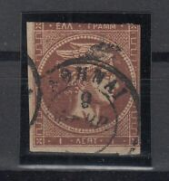 K3705/ GREECE – HERMES – MI # 38b USED – CV 155 $