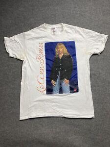 Vintage LeAnn Rimes Shirt Mens Extra Large 1997 Concert Tour Adult Tee Graphics