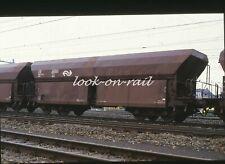 N1235 - Dia slide 35mm original Eisenbahn Holland, NS Erzwagen, '80s