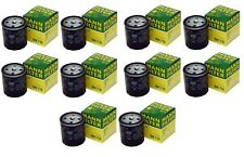 Set of 10 Fuel Filters WK716 Mann For Mercedes Benz W123 W126 240D 300CD