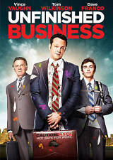 UNFINISHED BUSINESS 2015 Comedy dvd VINCE VAUGHN Sienna Miller DAVE FRANCO Ln