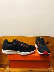 Nike Air Zoom Pegasus 34 Men's Running Shoe Sz (9-10) Black/Navy/Red 880555-014