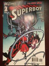 Superboy #1 - Nov. 2011 - New 52! - 1st Print