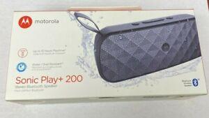 Motorola Sonic Play+ 200 Stereo Bluetooth Speaker