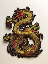 Z010 // ECUSSON PATCH AUFNAHER TOPPA / NEUF / dragon chinois 23 cm / A COUDRE !!