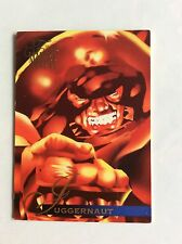 JUGGERNAUT MARVEL ANNUAL FLAIR '95 TRADING CARD nr 48