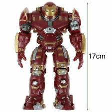 Avengers Ultron Iron Man Hulk Buster Figure Model Toys Light up Action Figurine