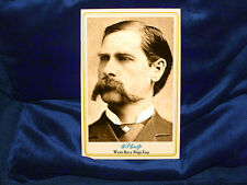 Lawman Marshal Wyatt Earp Cabinet Card Photograph Vintage Old West A++ Repro CDV