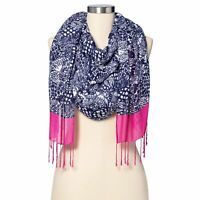 Lilly Pulitzer For Target Upstream Scarf Blue Womens NWT
