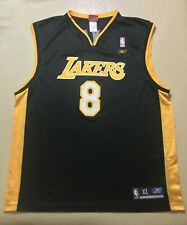 Vintage Los Angeles Lakers Kobe Bryant #8 Basketball NBA Reebok Jersey SizeXL