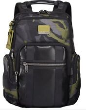 New Tumi Alpha Bravo Nellis Laptop Business Backpack Camo Green Black $395
